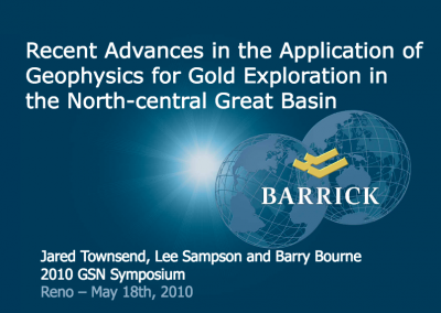 Recent Advances in the Application of Geophysics for Gold Exploration in the North-Central Great Basin