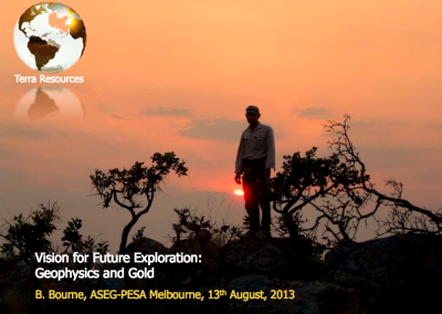 Vision for Future Exploration Geophysics and Gold