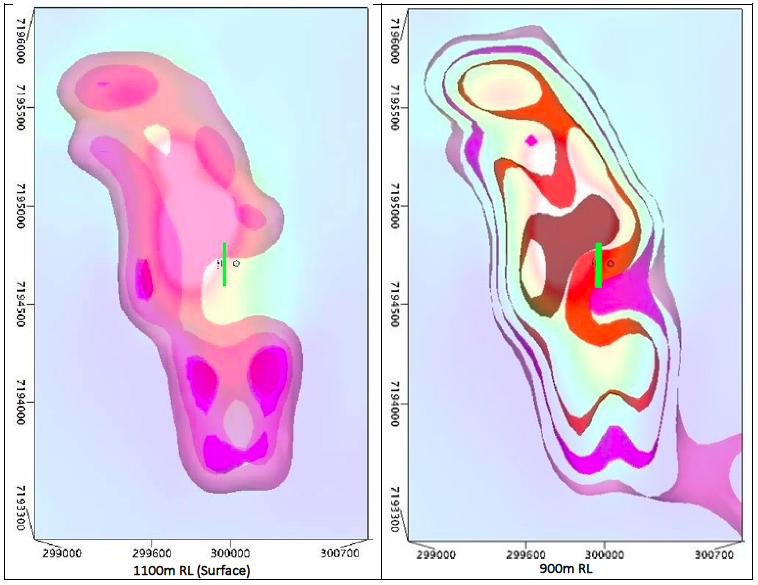 Geophysical Modelling strengthens drill ready Exploration Targets KB01 and KB05