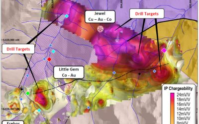 Blackstone Identifies Large Copper, Gold and Cobalt Targets at Little Gem