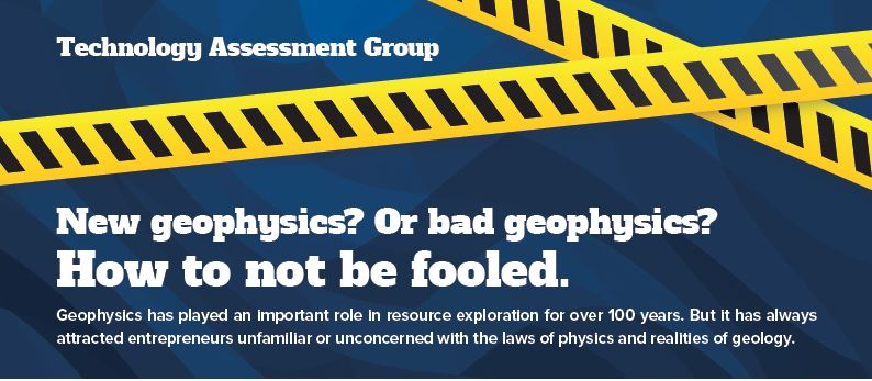 New geophysics? Or bad geophysics? How to not be fooled.