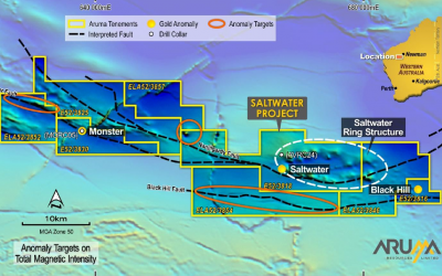 Aruma Further Expands Saltwater Gold Project – First Phase of Exploration to Commence