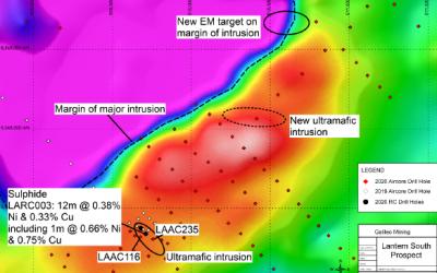 New Diamond Drill Target at Lantern Prospect